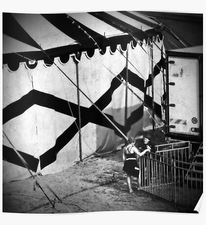 Circus conversation Poster