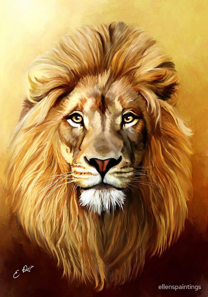Lion King by ellenspaintings