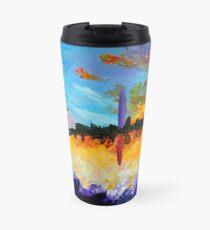 Washington at Sunset Travel Mug