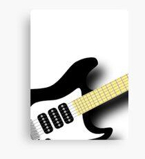 Air Guitar Canvas Print