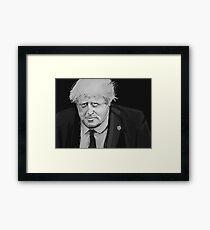 Boris Johnson Framed Print