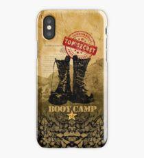 boot camp iPhone case iPhone Case/Skin