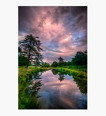 Pink Flow Photographic Print