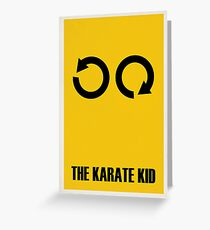 The Karate Kid Greeting Card