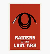 Raiders of the Lost Ark Photographic Print