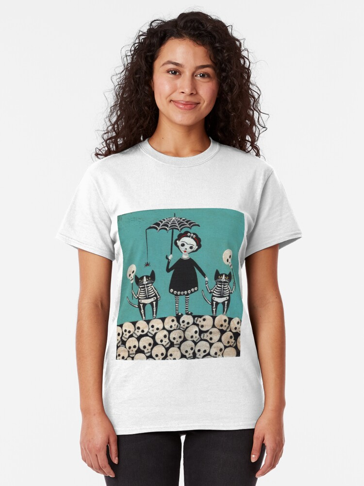 Alternate view of Day of the Dead  Classic T-Shirt