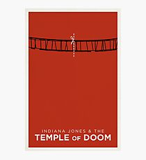 Indiana Jones and the Temple of Doom Photographic Print