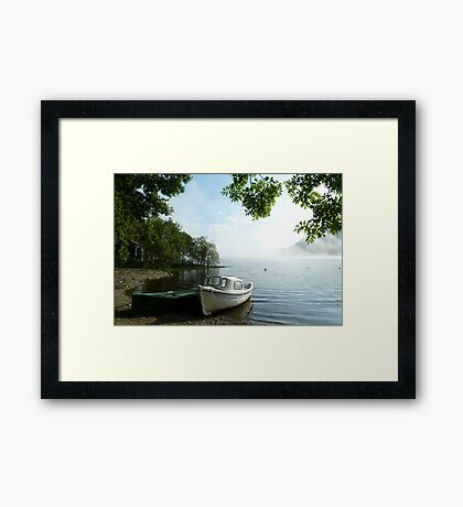 fishing club  Framed Print