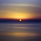Sunrise on the sea by Barbara  Corvino