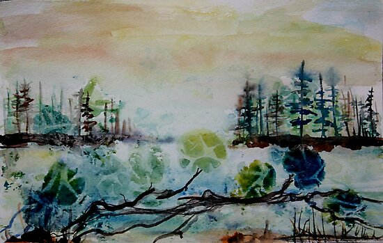 LAKESIDE VIEW by eoconnor