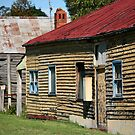 ruralscapes #141, red roof by stickelsimages
