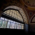 Palace Window by Glennis  Siverson
