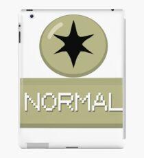 Pokemon Type - Normal iPad Case/Skin