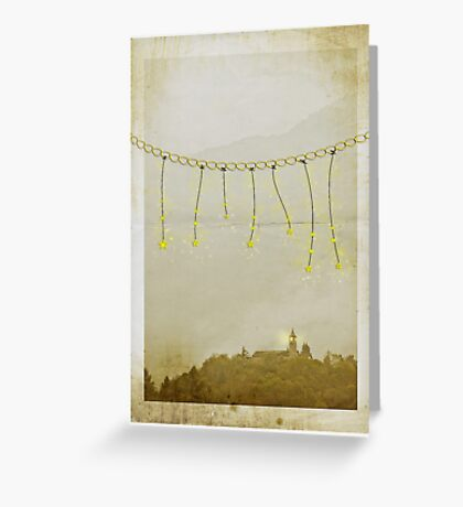 ~ whimsy at twilight ~ Greeting Card