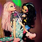 Pole Dancing Selfie Dolls by jlara