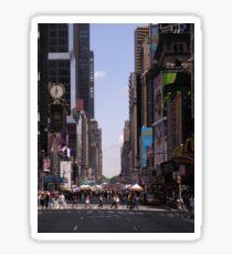 NYC 7th Avenue. Sticker