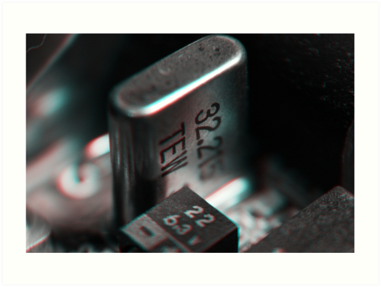 Anaglyph Circuitry 3 by Daniel Owens