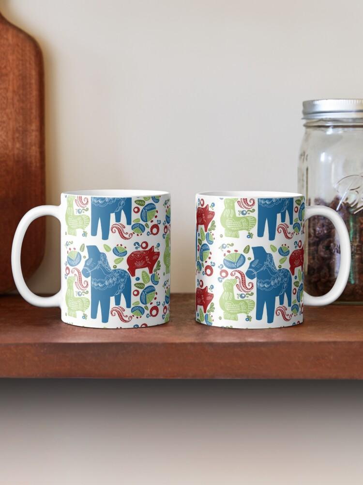 Alternate view of Dala Animals Mug