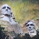 Mount Rushmore - My Impression by Jeff Burgess