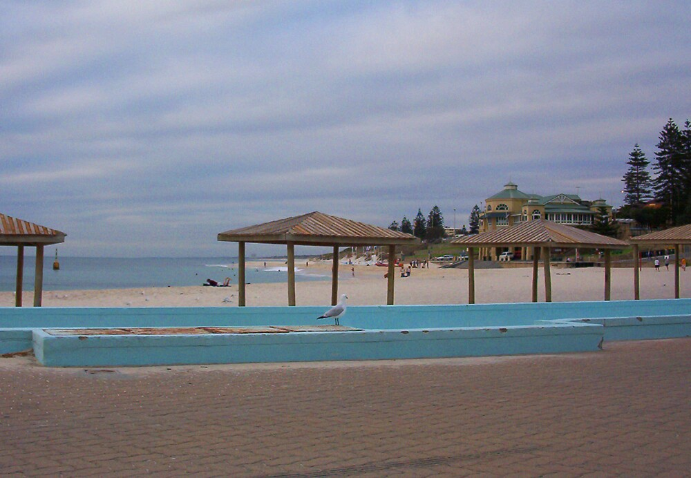 Cottesloe Swimpool One by Robert Phillips