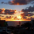 North Cottesloe Sunset Two by Robert Phillips