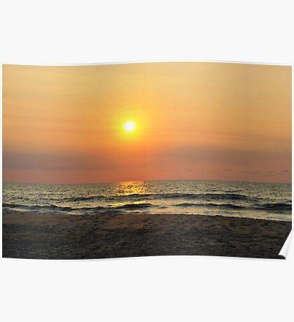 Sunrise in Salvo Poster
