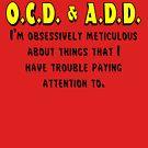 OCD & ADD - Black/Yellow by BlueEyedDevil