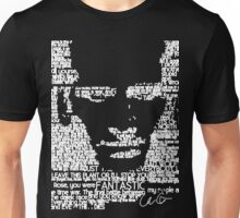 The Ninth Doctor Word Art Unisex T-Shirt