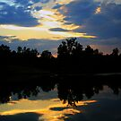 Sunset Clouds of Beauty by Susan Blevins