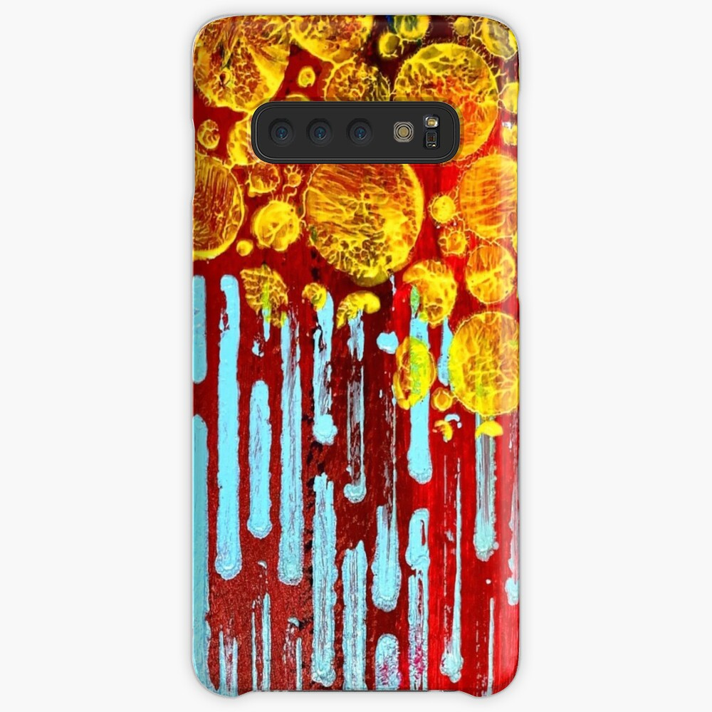 Yellow Flowers on a Blue Sky Case & Skin for Samsung Galaxy