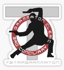 Grammaton Cleric Sticker