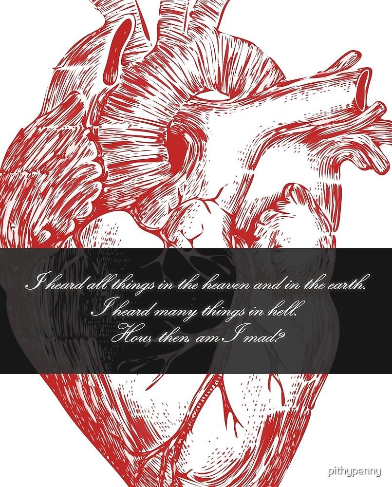 Edgar Allan Poe - Telltale Heart by 5pennystudio