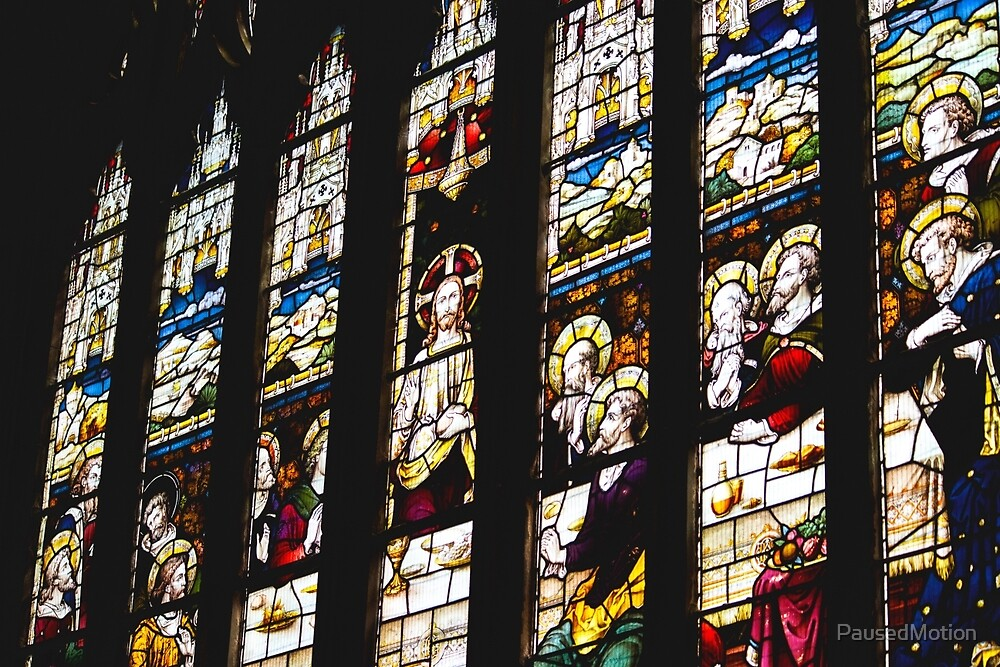 Stained Glass Window  by PausedMotion