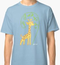 Giraffe with colour Classic T-Shirt