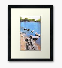 Stone Bridge - Belair National Park  Framed Print