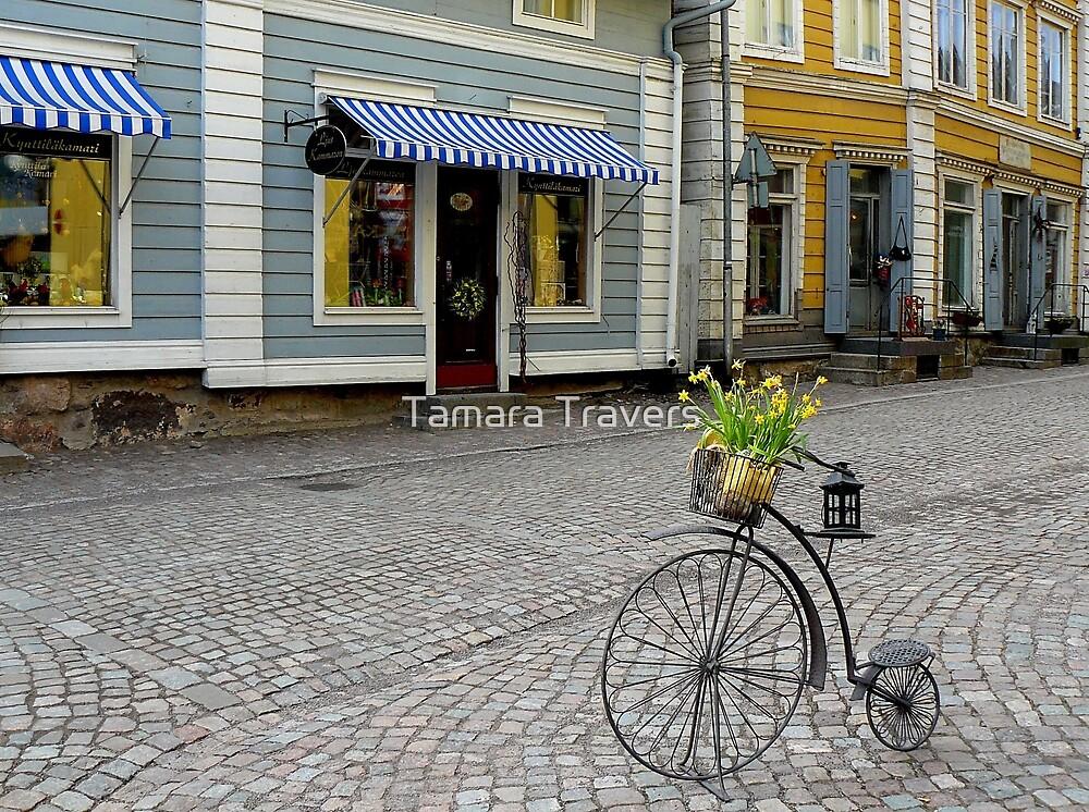 Porvoo Street, Finland by Tamara Travers