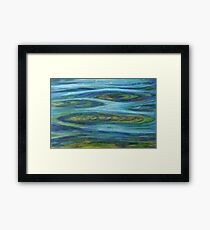 Undercurrent Framed Print