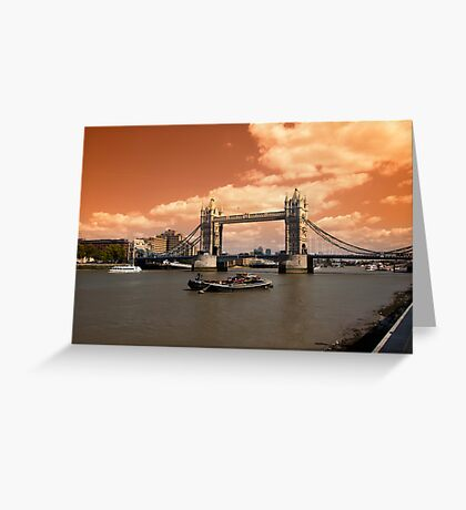 Londons Burning Greeting Card