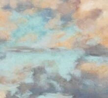 Pastel Clouds - Balmoral NSW Sticker
