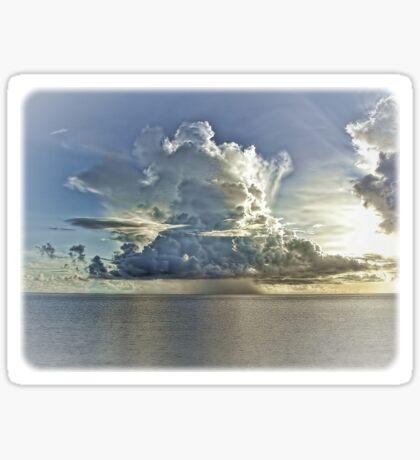 """Just A Cloud"" Sticker"