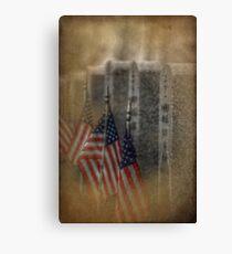 patriots pallet Canvas Print