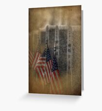 patriots pallet Greeting Card