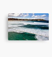 Bondi Swimmer Canvas Print