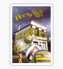 Hep Hep Hepburn Springs Sticker