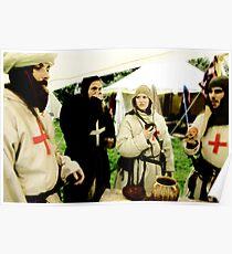 Knights Templar Poster