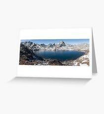 Sacred lake  Greeting Card
