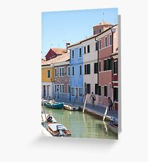 Tranquil Burano Greeting Card