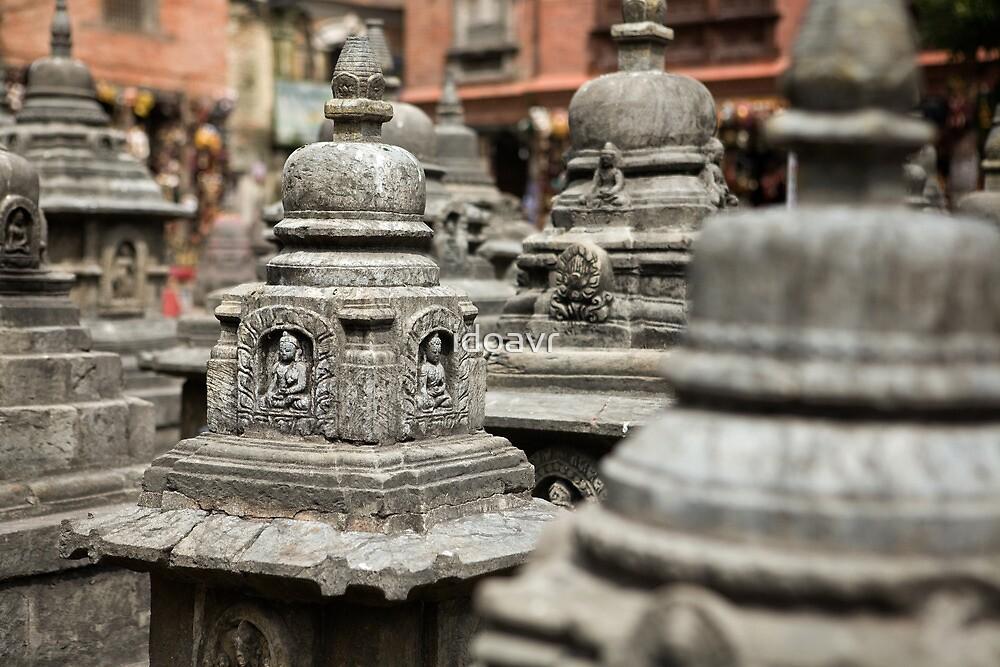 Monkey Temple, Nepal  by idoavr