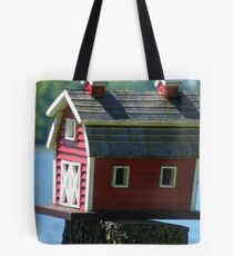 BARN BIRDHOUSE Tote Bag