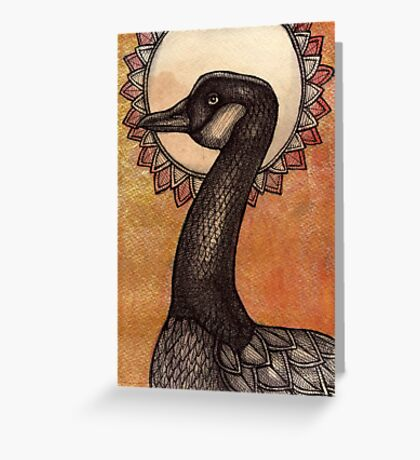 Spruced Goose Greeting Card